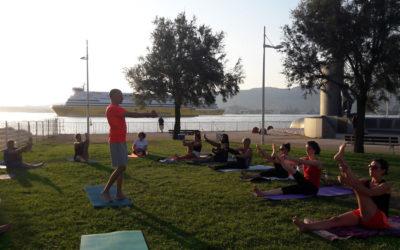 Reprise du Pilates On The Beach en septembre à Toulon